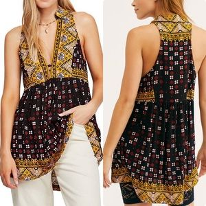 NWT Free People Charlotte Sleeveless Top